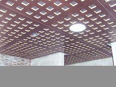 El falso techo de madera &#191