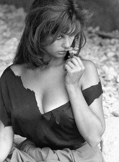 Claudia Cardinale (via Photos: The 1960s Bombshell Style of Claudia Cardinale—Italy's Brigit…)
