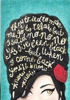 Amy- Rehab lyrics