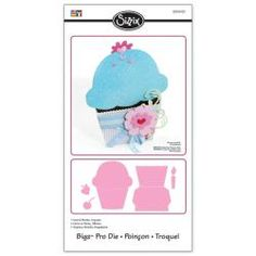 @Overstock - Brand: Sizzix  Design: Cupcake Card and Pocket  Designer: Stu Kilgourhttp://www.overstock.com/Crafts-Sewing/Sizzix-Bigz-Pro-Cupcake-Card-and-Pocket-Die-cut/6183021/product.html?CID=214117 $36.99