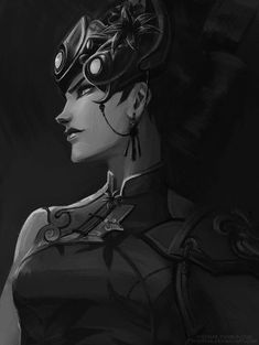 Widowmaker Overwatch Art