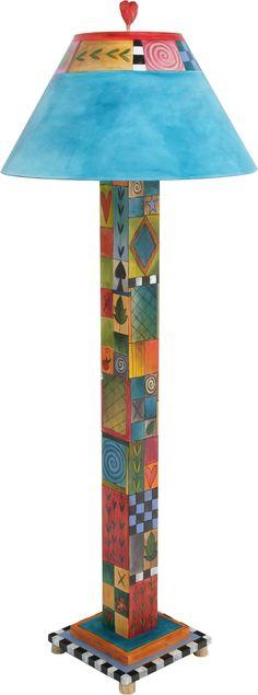 Repurposed Furniture Decor – My Life Spot Funky Furniture, Decorative Painting, Whimsical Furniture, Recycled Furniture, Hand Painted Furniture, Painted Chairs, Painted Furniture, Painting Lamps, Funky Painted Furniture