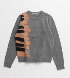 Piano Key Sweater