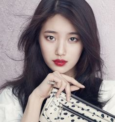 Suzy is a South Korean singer and actress. She is a member of the girl group miss A, under JYP Entertainment.