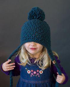 CROCHET HAT PATTERN Cumberland Ski Hat Pattern 6 sizes Included