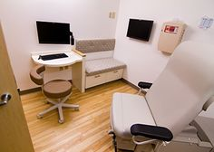 """The chosen model for the """"exam room of the future"""" was evaluated by patients, providers and staff before being implemented at Holden Family Practice in Holden, Mass. Photo Credit: Warren Patterson Photography"""