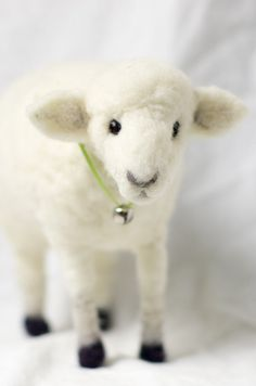 Large Needle Felted Sheep *made to order*