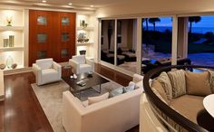 Living Rooms Designs By Sarasota Luxury Waterfront Home Builder ...