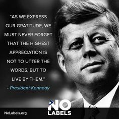 J.F. Kennedy 1917 - 1963. The youngest chosen president of The Unites States until he got killed at the age of 46 in Dallas.