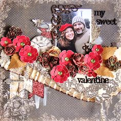 My Sweet Valentine - Scrapbook.com