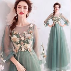Royal Evening Dress for Women Sparkle Formal Gown Sheer