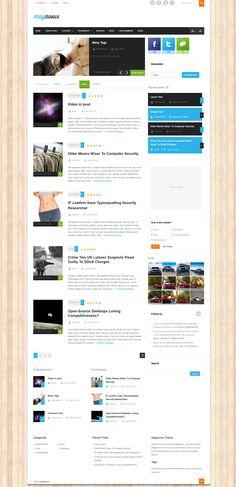 Magnovus  |  Responsive, Blog-based, Wordpress Template  |  themeforest  |  http://www.demo.purethemes.net/magnovus/