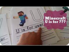 FREE Printable Minecraft Handwriting Practice Worksheets – Pepper Scraps