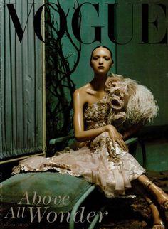 Gemma Ward by Steven Meisel for Vogue Italia March 2004