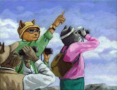'Bird Watchers - Colorado'  Linda Apple