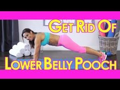 Best Lower Abs Workout To Get Rid Of The Lower Belly Pooch!   with Natalie Jill - YouTube