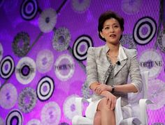 Yang Lan, Cofounder Sun Media - One of the most powerful women in Chinese media -- and often called China's Oprah -- Lan cofounded Sun Media with her second husband, Hong Kong media mogul Bruno Wu. #SavvyWomen Top #Entrepreneurs
