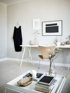 my scandinavian home: Rocking the 'greige' in a Swedish apartment