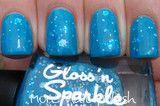 Gloss n Sparkle Blue Monday $13