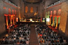 A concert in the Church of Hagia Irene,Istanbul