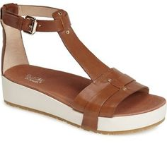 Chic yet practical t- strap sandals. Dr. Scholl's Original Collection 'Fraser' Platform Sandal (Women)
