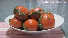 Соленые фаршированные помидоры