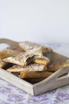 Empanadas de plátano y chocolate. Receta mexicana con Thermomix