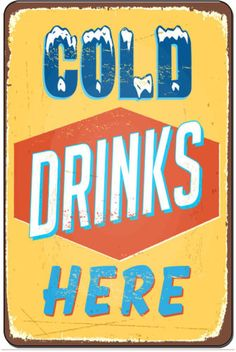 Cold-Drinks-Here-Retro-Metal-Sign