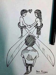 Resultado de imagen para dibujos de amor para dibujar a lapiz con frases faciles