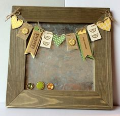 DIY Home Decore: Make Lemonade Galvanized Board by Patty Folchert featuring Jillibean Soup Mix the Media Galvanized Board and Tag, You're It! collection