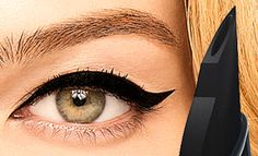 This looks AMAZING (and it's waterproof!): Benefit They're Real Push-Up Gel Liner Pen