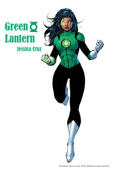 Green Lantern  Jessica Cruz / / DC Rebirth