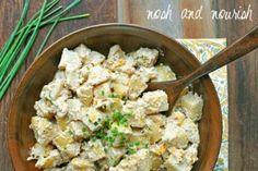 Picnic Potato Salad // via Nosh and Nourish