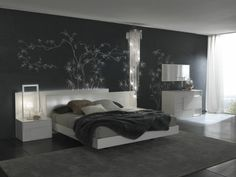 Interior Design Modern Bedroom Color Schemes Charming Teenage Colored Ideas With Grey Color Interior Decor For Your Bedroom Design Ideas Modern Master Bedroom, Master Bedroom Design, Cozy Bedroom, Minimalist Bedroom, Contemporary Bedroom, Bedroom Sets, Bedroom Decor, White Bedroom, Bedroom Designs