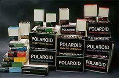Old Polaroid Film Packaging