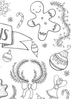 Doodle Lettering, Doodles, Symbols, Letters, Drawings, Xmas, Letter, Sketches, Lettering