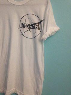 NASA shirt tumblr tee by WickednessWithin on Etsy