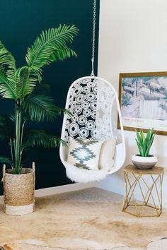 hamaca colgante de ratán / Rattan Hanging Chair