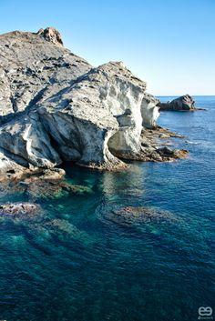Cala Grande ( or Cala del Francés) - Cabo de Gata-Níjar Natutal Reserve - Prov. Almería - Andalucía, Spain.