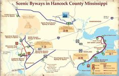 New Hancock County Scenic Byway Signs