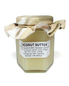 JEFF'S JAMS AND JELLIES - MAUI BUTTER - COCONUT - 6.5oz/184g – Maui Ocean Treasures