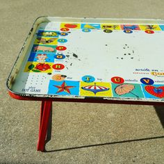 Check out this item in my Etsy shop https://www.etsy.com/listing/289178639/replogle-metal-color-tray-lap-tray-tv