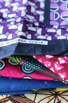 African fabrics collection!