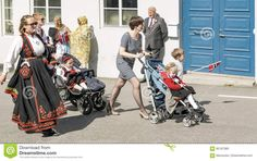 Norwegian Women With Children In Wheelchairs - Download From Over 59 Million High Quality Stock Photos, Images, Vectors. Sign up for FREE today. Image: 92167360