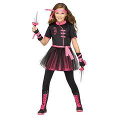 Ninja Miss Girls' Halloween Costume
