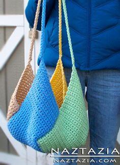 Free Pattern - Crochet Windmill Bag