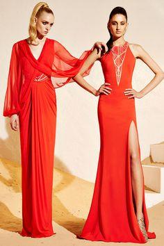 Zuhair Murad Resort collection 2015 Fashion Show Look Fashion, High Fashion, Fashion Show, Fashion Design, Net Fashion, Couture Fashion, Runway Fashion, Glamour, Mannequins