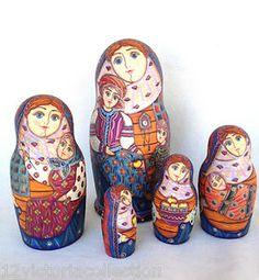 Nesting DollsMore Pins Like This At FOSTERGINGER @ Pinterest