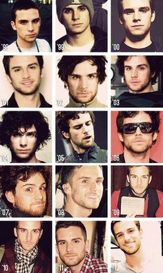 Guy Berryman through the years.  He's even more handsome with age :)