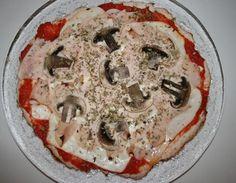 06. Pizza fit de pavo en blog de nutrición